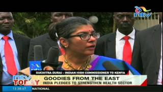 India pledges to strengthen health sector in Kenya