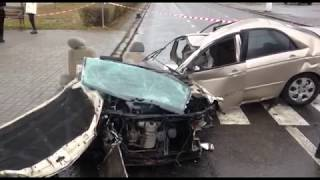Gambar cover 0512: В Николаеве разбился вдребезги автомобиль Киа