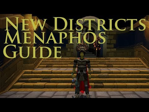 NEW DISTRICTS | MENAPHOS GUIDE | FASTEST REPUTATION GAIN