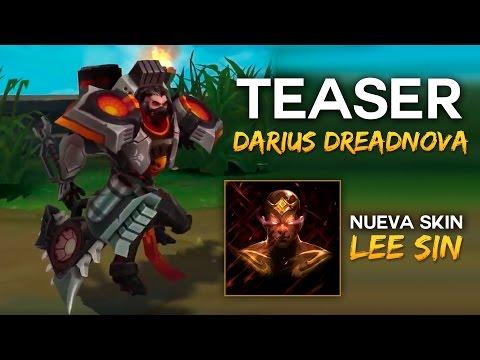 Teaser DARIUS DREADNOVA (+ Lee Sin Skin) | Noticias LOL