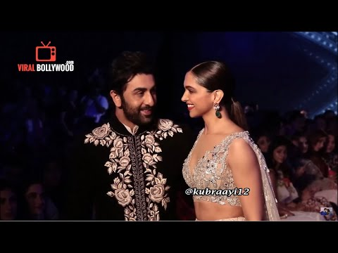 Ranbir Kapoor & Deepika Padukone  Where Do Broken Hearts Go The Walk Of Mijwan 2018