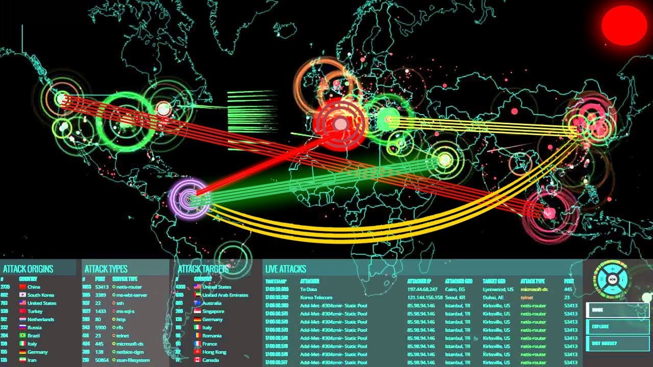 Live Hack Attack In Real Time Dailyblocks Video Player For