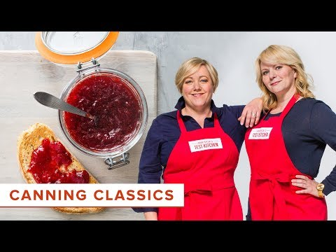 Canning at Home: How to Make Homemade Strawberry Jam and Bread and Butter Pickles