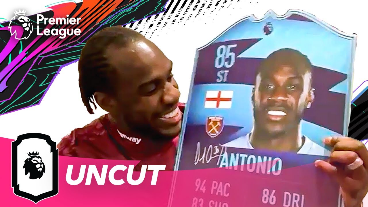 Michail Antonio Predicts His FIFA 21 Rating | Uncut ft West Ham United | AD