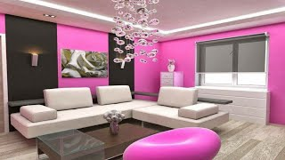 Amazing Pink living room designs and ideas || home decorating ideas || home design and plan ||floor