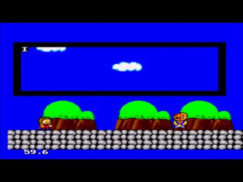 Alex Kidd (In Miracle World) - [Master System Emulator]
