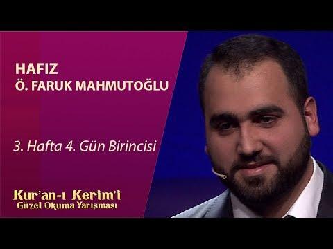 Kur'an-ı Kerim'i Güzel Okuma Yarışması / Ömer Faruk Mahmutoğlu