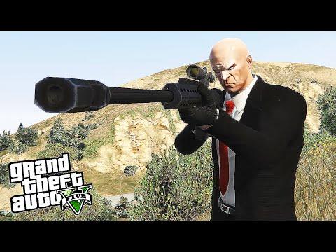 GTA 5 Hitman - President Speech Assassination (Rockstar Editor)