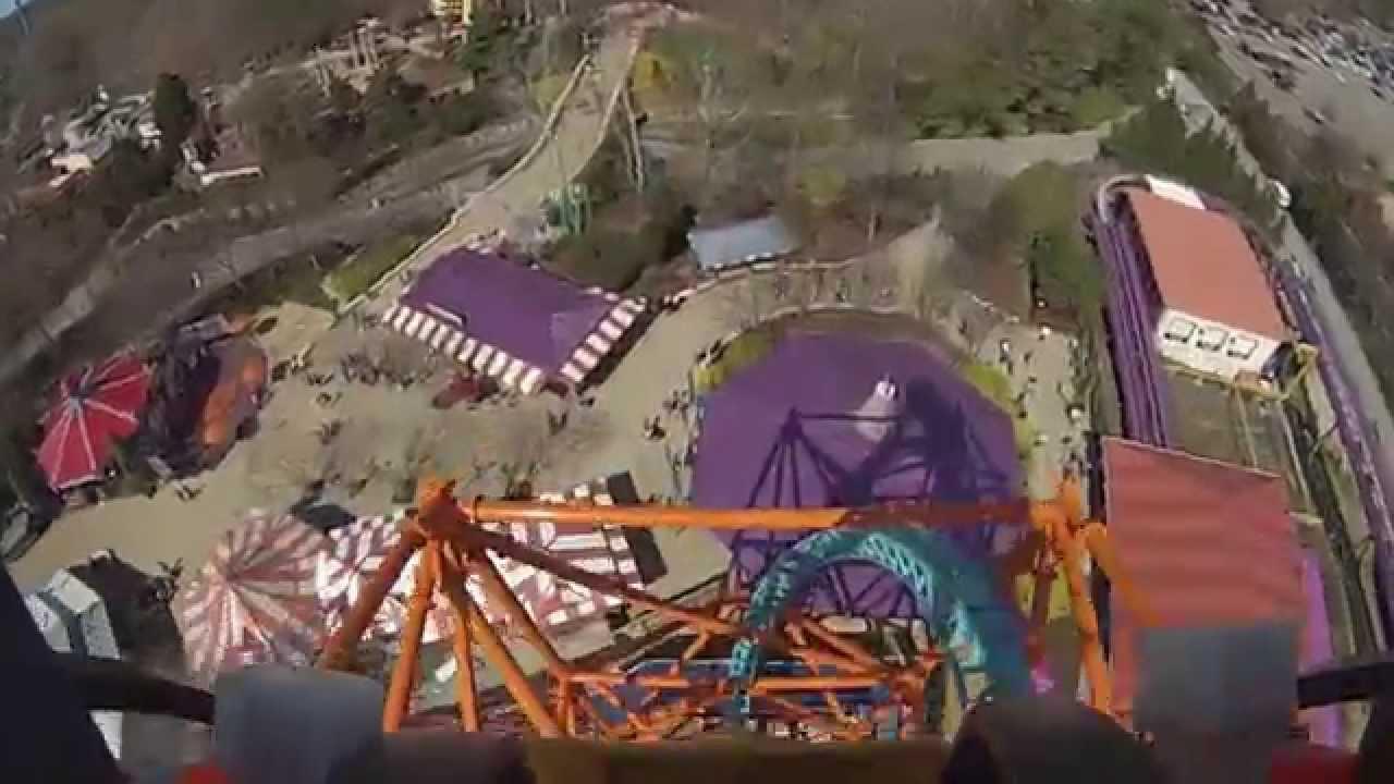 First POV of Tempesto Busch Gardens Williamsburg VA YouTube