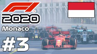 F1 2020 - How difficult is Monaco Grand Prix with Charles Leclerc?? Gameplay Part 3
