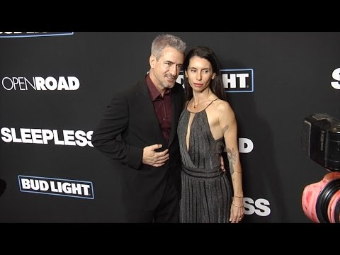 "Dermot Mulroney and Tharita Cesaroni ""Sleepless"" Premiere Red Carpet"