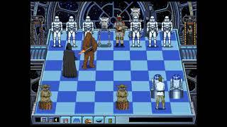 The Blockade Runner Plays Star Wars Chess (1993) - w/ Commentary