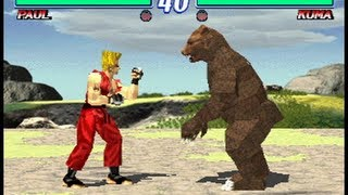 Tekken 2 (Arcade Version) - Paul