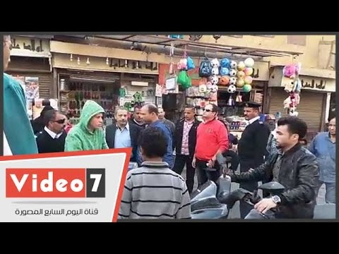 اليوم السابع : مشادة كلامية بين ضابط شرطة ومندوب مرشح فى الجمالية بسبب توجيه الناخبين