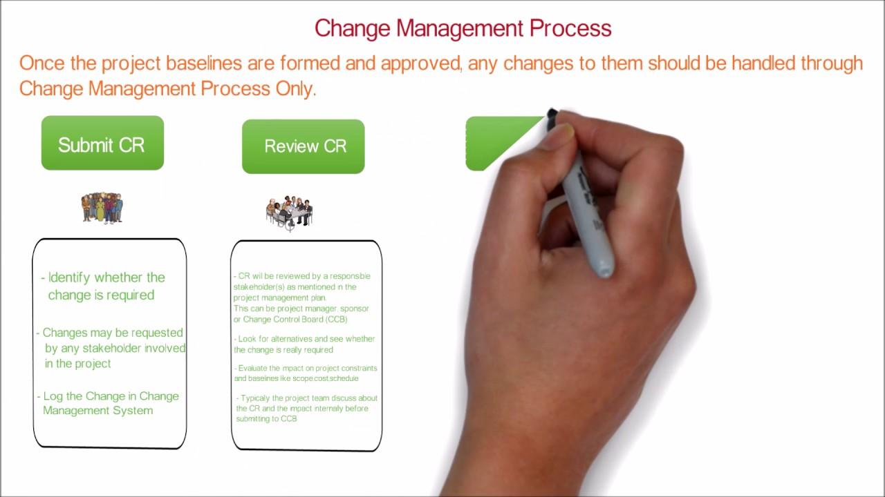change management process control project pmp ccb