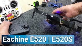 Eachine E520S Review 1st look - DJI Mavic Air? Not Quite!