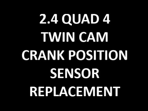 How To Replace Crank Position Sensor 2.4 Twin Cam Quad 4 GM