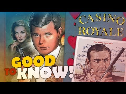 """The Actual First James Bond Film from 1954 - """"CASINO ROYALE"""" 