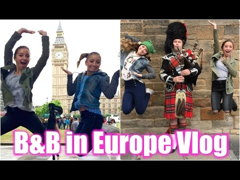 Brooklyn and Bailey in Europe