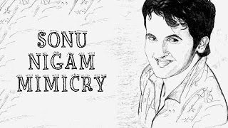 Hilarious Mimicry On Sonu Nigam | Abin Sinha