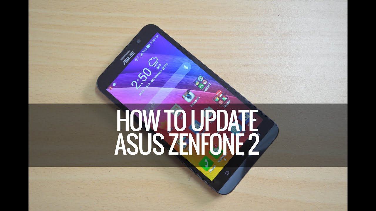 How To Update ASUS Zenfone 2