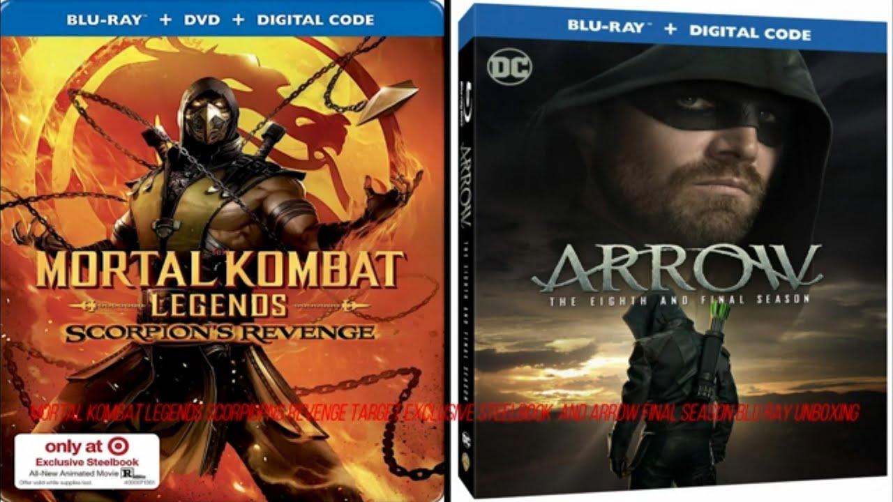 Mortal Kombat Legends Scorpions Revenge Target Exclusive Steelbook