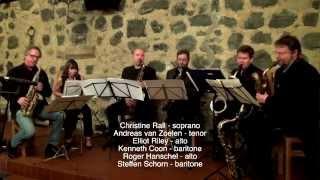 Raschèr Saxophone Quartet feat. Roger Hanschel & Steffen Schorn: Jandor (Roger Hanschel)