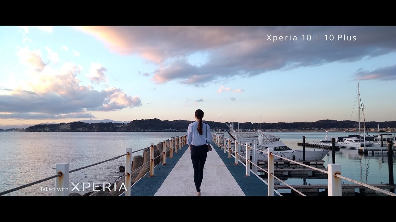 Xperia 10 and Xperia 10 Plus – capture your world in 21:9
