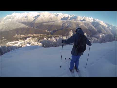 Freeride In Sochi Mountains 2014
