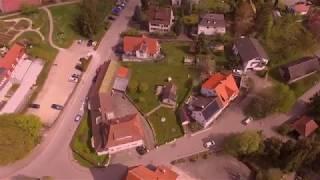 Drone shots of Ellwangen