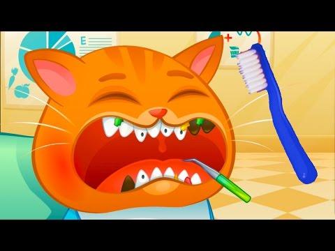 Котик БУБУ заболел. Видео для детей игровой мультик про