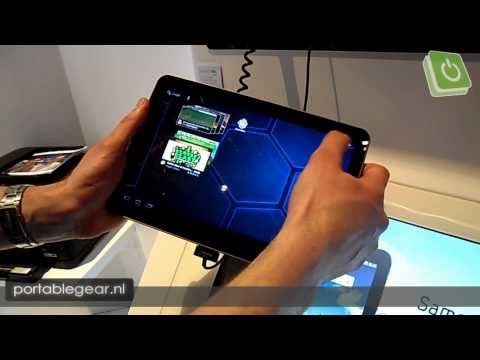 Samsung Galaxy Tab 10.1v hands-on