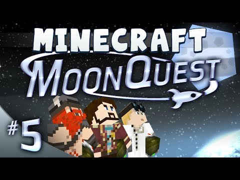 Minecraft Galacticraft - MoonQuest Episode 5 - Quicksand