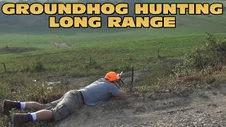 Long Range Groundhog Hunting 2014
