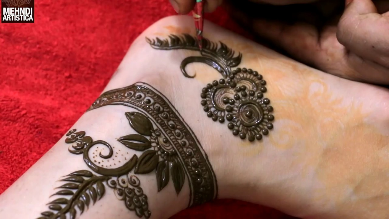 Mehndi Ankle Instagram : Top instagram trendy anklet designs for all brides to be
