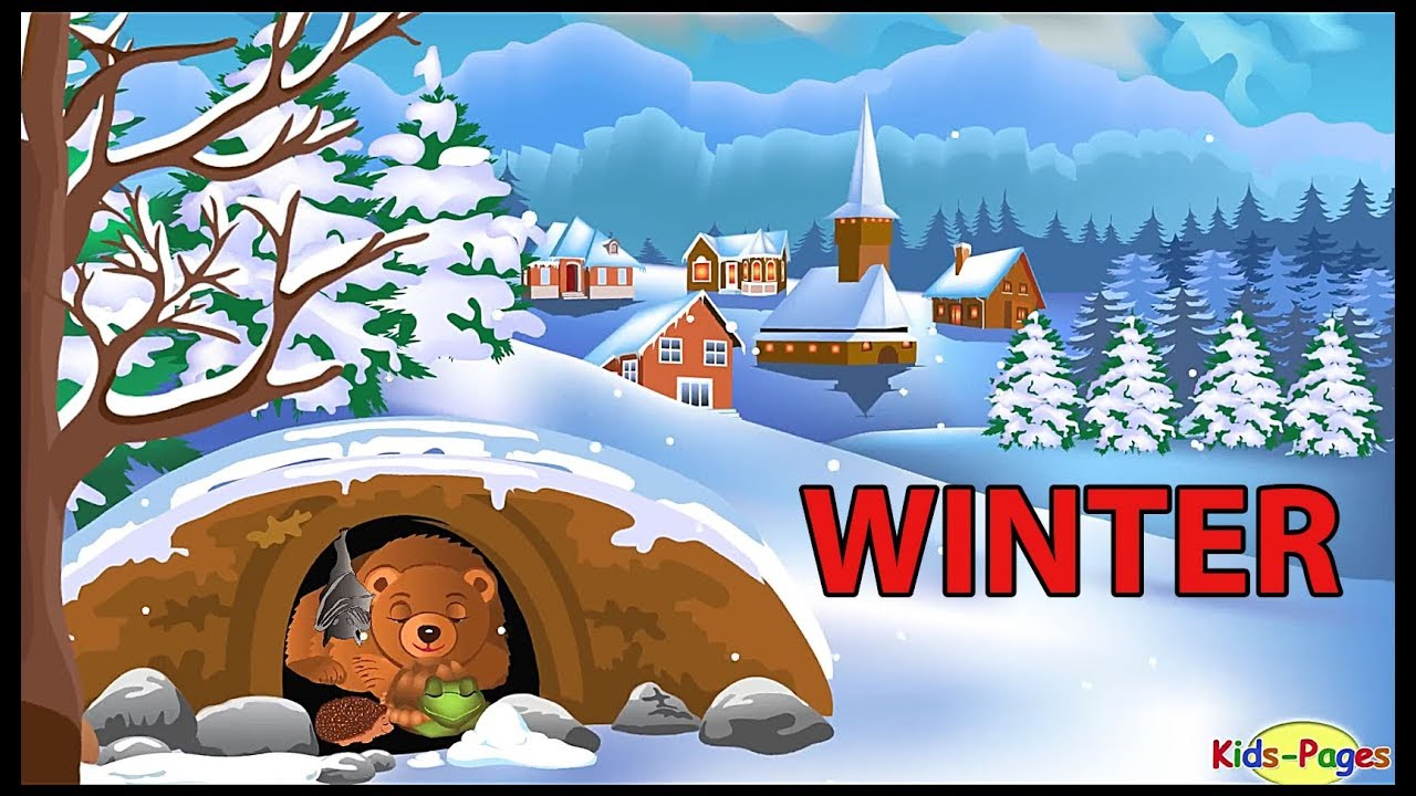 Winter vocabulary - Learn to talk about winter season ...