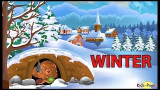Winter vocabulary - Learn to talk about winter season