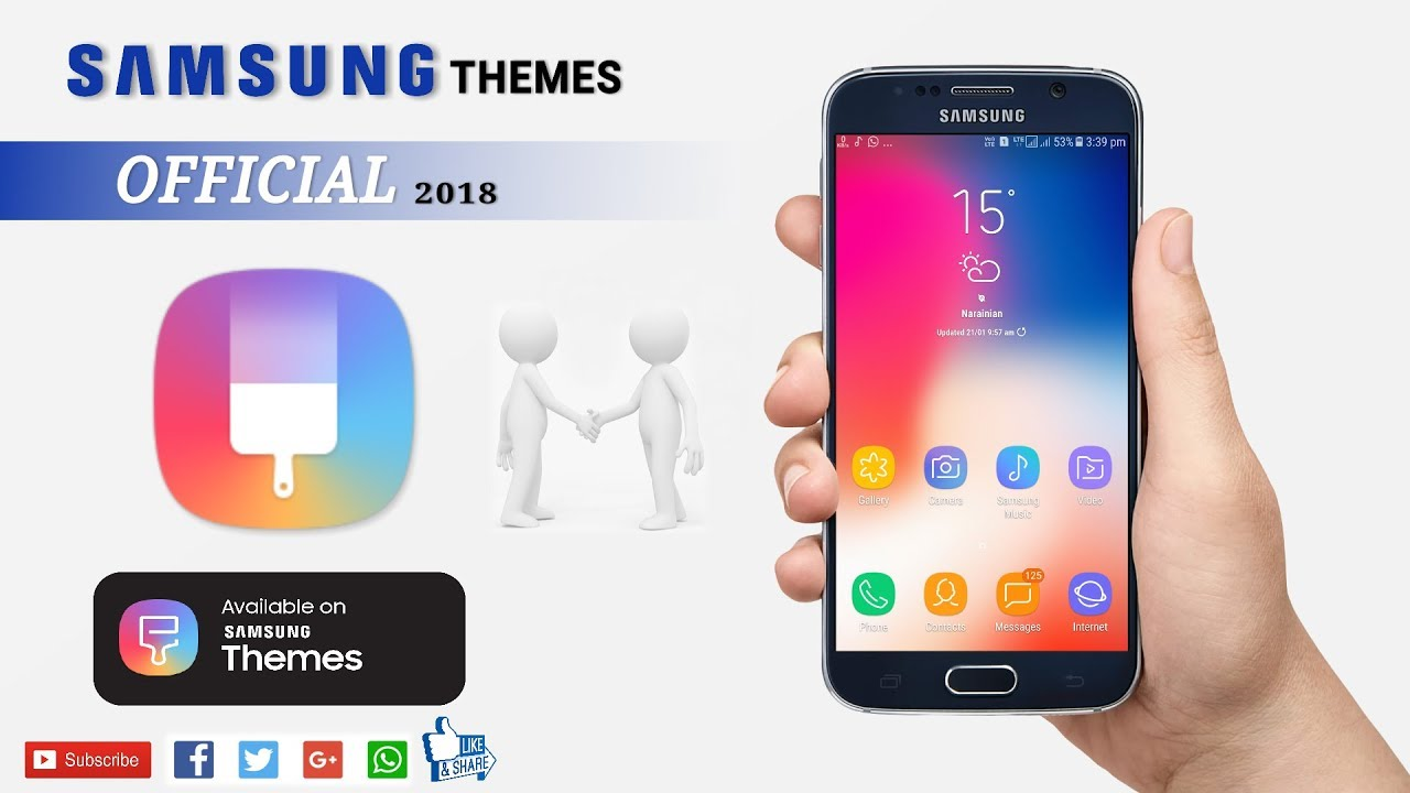 Best Samsung Themes 2018 Free Download (bito Tips And