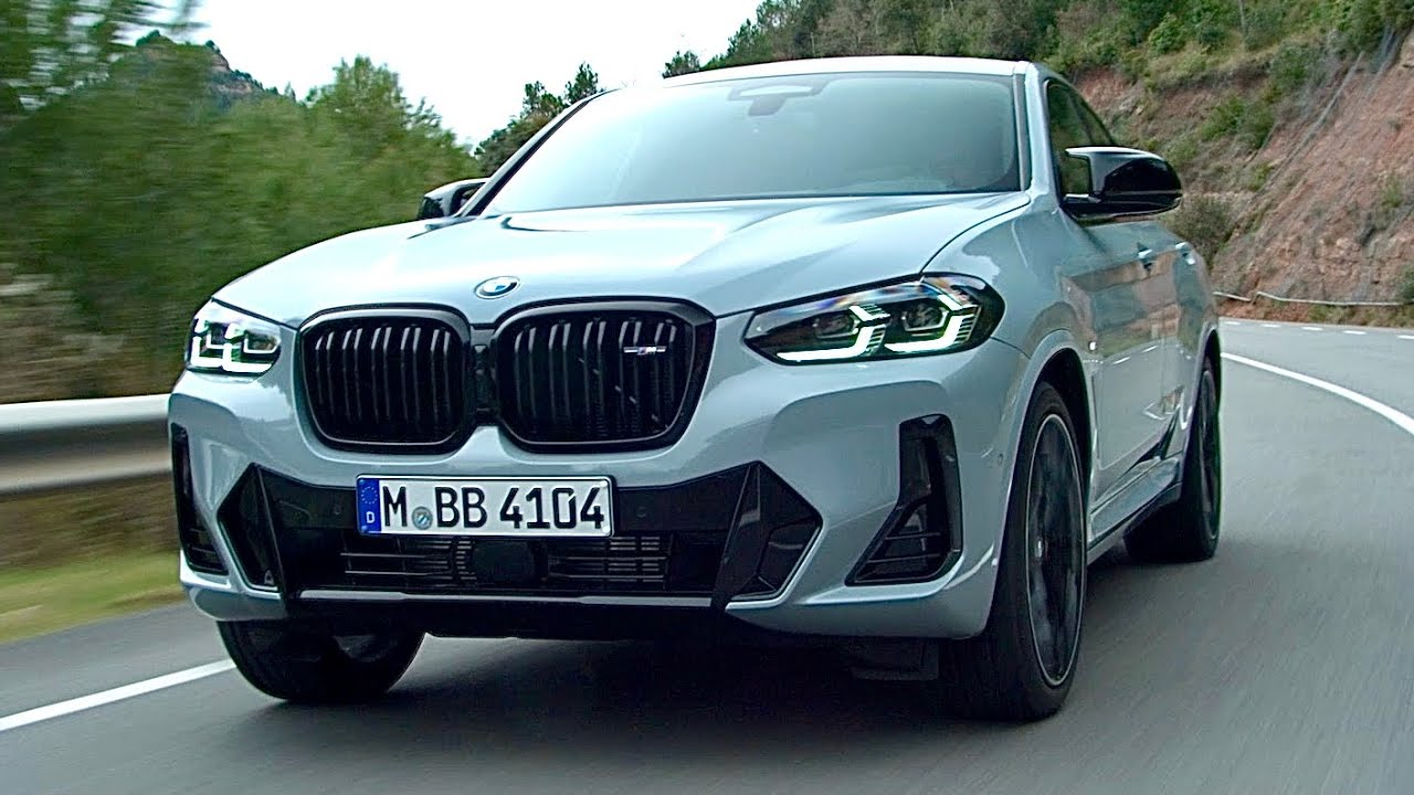 Download New BMW X4 2022 - FIRST LOOK exterior, interior & driving