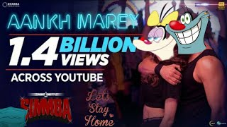 Aankh Maarey Song|ft. Oggy and Olly #ShudhIndian #Hinditoo