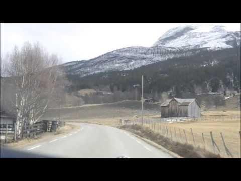 Sognefjellet og Bøverdalen, 4.mai 2013
