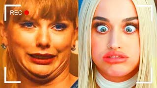 Как снимали клипы Katy Perry и Taylor Swift