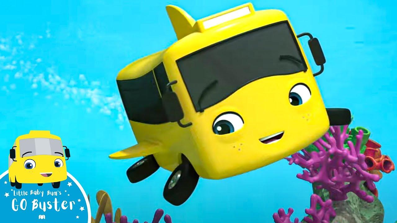 Playing in the Ocean | Best Baby Songs | Kids Cartoon | Nursery Rhymes | Little Baby Bum