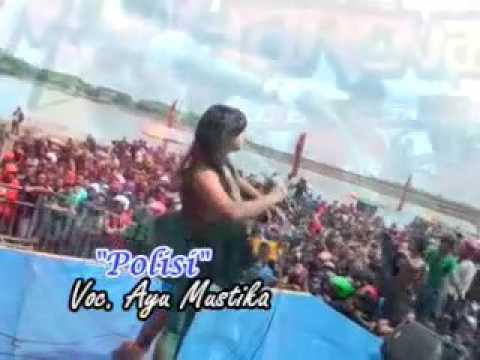 Polisi-Ayu Mustika Maharena live waduk kali bening terbaru 2017