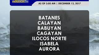 Panahon.TV | December 13, 2017, 6:00AM (Part 5)
