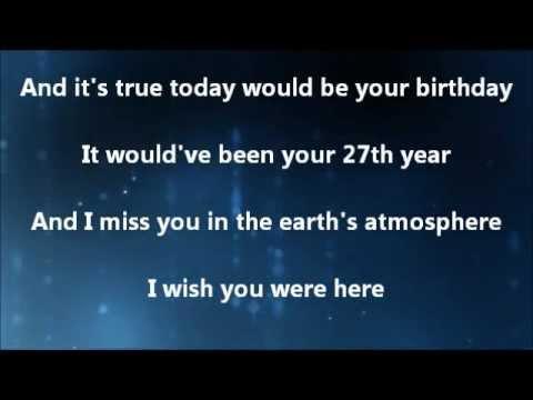 Delta Goodrem Wish You Were Here Lyrics