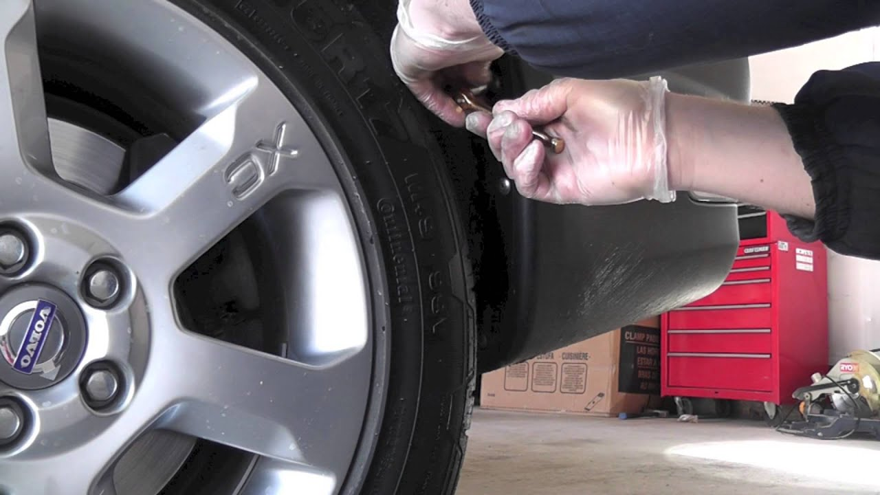 Splash Guard Car >> Volvo XC70 Mudflaps Installation - YouTube