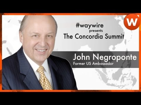 John Negroponte on Public-Private Partnerships #waywire
