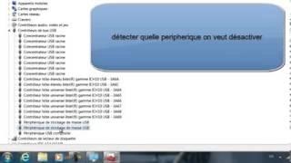 comment Activer et Désactiver les ports USB de son ordinateur
