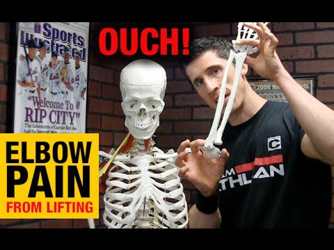 Elbow Pain When Working Out (WHY & HOW TO FIX IT!!)